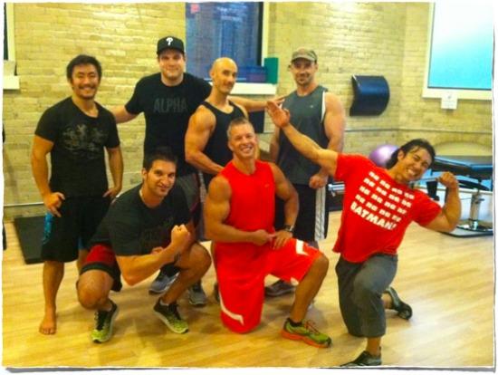 Total body training fat loss