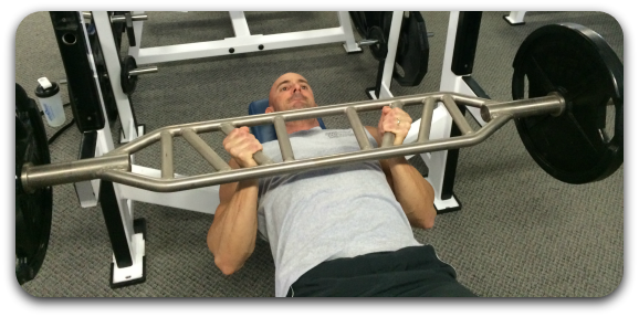 Close Grip Bench Press With An Angled Bar For A More Focused Triceps Pump And Muscle Gains