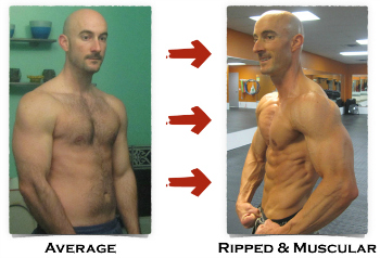 How I Went From Average To Ripped