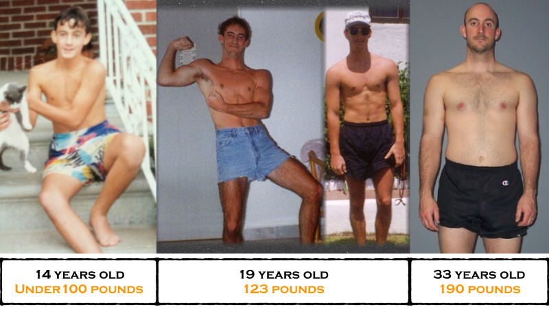 bodybuilding transformation