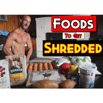 Healthy Grocery Haul To Get Shredded After 40