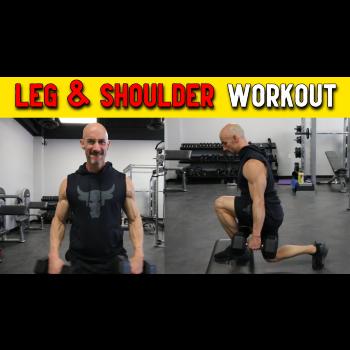 leg and shoulder workout for men over 40